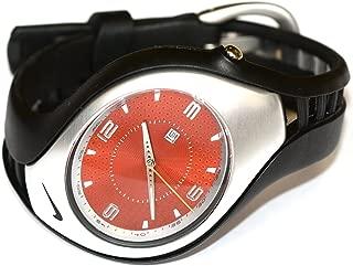 Men's Nike Triax 3H Analog Black Orange Sport Watch