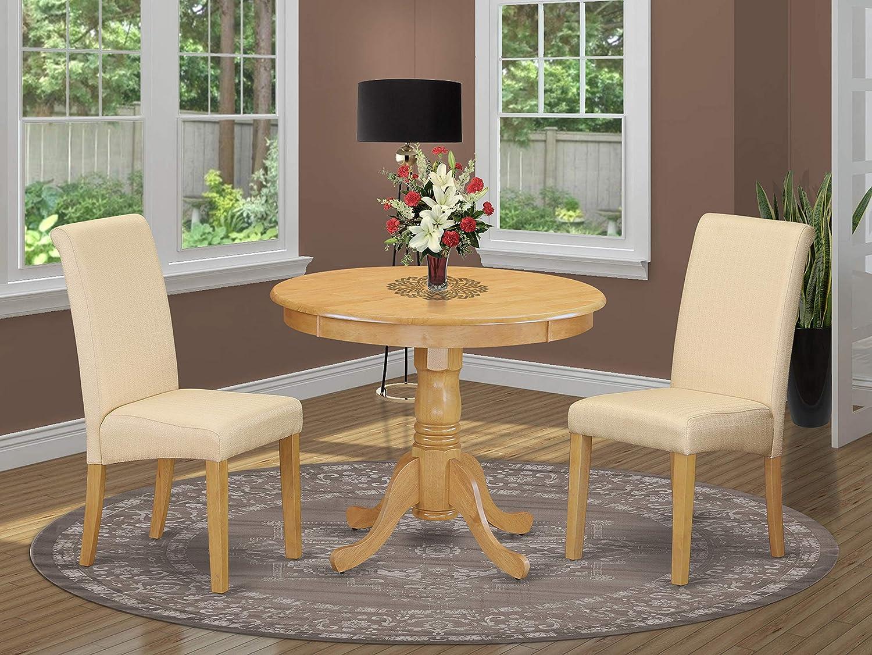 East West Furniture Topics on TV Dining Los Angeles Mall Room Oak