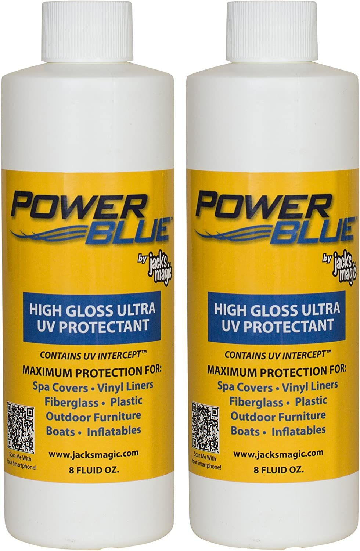 Jack's Magic Power ディスカウント Blue セール開催中最短即日発送 High Gloss Ultra 2 UV Protectant oz 8