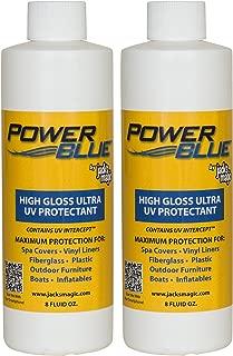 Jack's Magic Power Blue High Gloss Ultra UV Protectant (8 oz) (2 Pack)