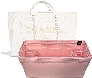 8577ea4dca Zoomoni Chanel Deauville Tote (Large) Purse Organizer Insert - Premium Felt  (Handmade/