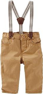 OshKosh B'Gosh Baby Boys' Suspender Twill Pants
