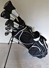 Callaway Mens Complete Golf Clubs - Set with Stand Bag Driver, 3 wood, Hybrid, Irons, Putter, Right Handed Regular Flex