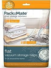 Packmate® 4Tamaño mediano soporte de vacío comprimido ahorro de espacio de almacenamiento bolsas (45x 60cm) para la ropa, edredones, ropa de cama y más...