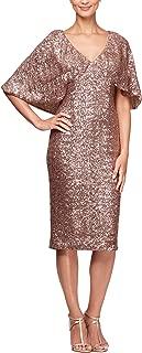 Alex Evenings Women's Short Sequin Dress