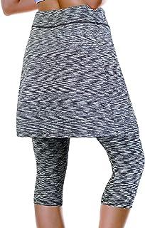 ANIVIVO Women's Athletic Skirt with Leggings for Tennis Golf Skort with Pockets