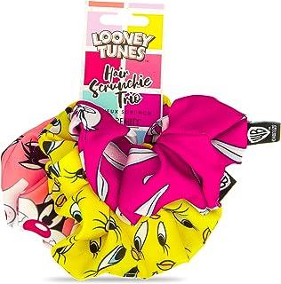 Mad Beauty Gumki do włosów Looney Tunes, 3 sztuki