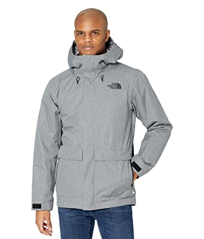 The North Face Clement Triclimate Jacket (TNF Medium Grey Heather) Men