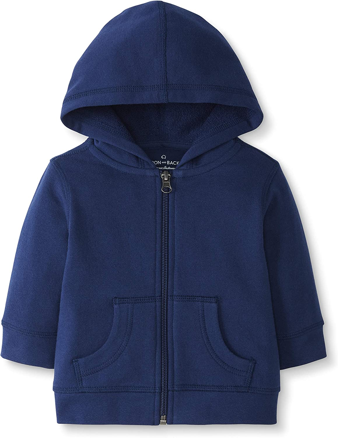 Moon and Back by Hanna Andersson Girls' Hooded Sweatshirt
