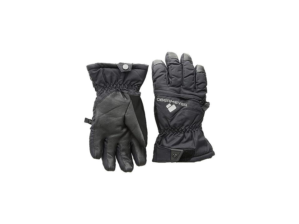 Obermeyer Kids Lava Gloves (Little Kids/Big Kids) (Black) Extreme Cold Weather Gloves