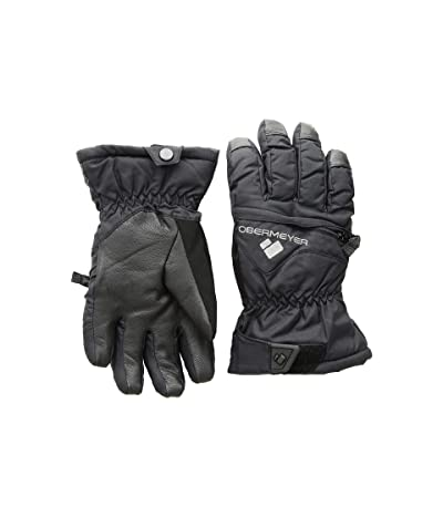 Obermeyer Kids Lava Gloves (Little Kids/Big Kids) (Black) Extreme Cold Weather Gloves