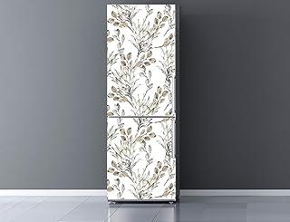 Oedim Vinilo para Frigorífico Ramas Secas 185x60cm   Adhesivo Resistente y Económico   Pegatina Adhesiva Decorativa de Diseño Elegante