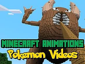 Clip: Animations - Pokémon Minecraft Videos