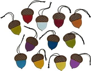 Design Ideas Poplar Wood Ornaments and Trees (Sherwood Acorn Ornaments)