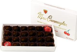Mrs. Cavanaugh's Cherry Cordials 1-lb Boxed Dark Chocolate - Cherry Chocolates