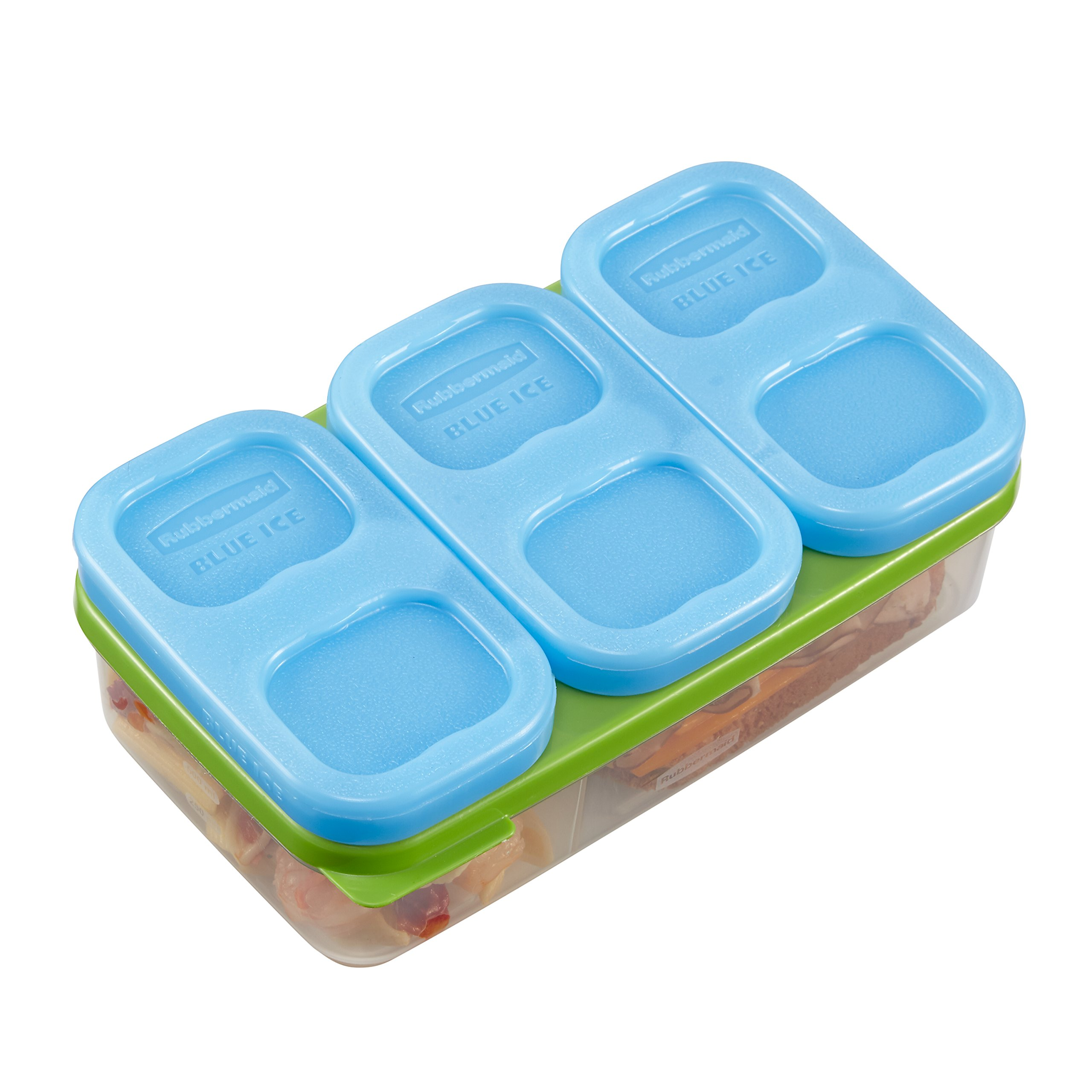 Rubbermaid LunchBlox Ice Pack, Small, Blue, 3 Pack
