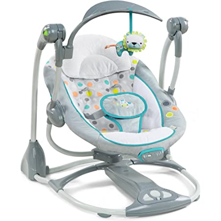 Amazon Com Ingenuity Convertme Swing 2 Seat Portable Swing Ridgedale Baby