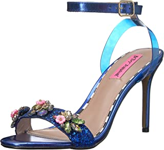Betsey Johnson Women's Alyna Heeled Sandal