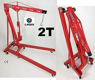 Festnight Gr/úa de Motores Plegable 2 Ton 88,2 kg