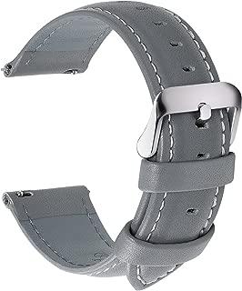 grey leather strap