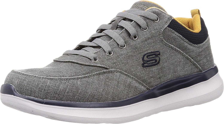 Skechers Men's Delson 2.0 - Kemper Sneaker Oxford
