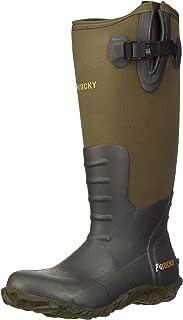 ROCKY Rocky Core Brown Rubber Waterproof Outdoor Boot mens Knee High Boot