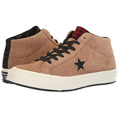 Converse One Star Counter Climate Mid (Teak/Black/Egret) Shoes