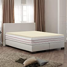 Spring Coil High Density Foam Topper,Adds Comfort to Mattress, Twin Size