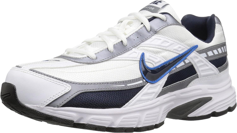 Nike Men's Initiator Running shoes, White Obsidian Metallic Cool Grey, 7.5 W US