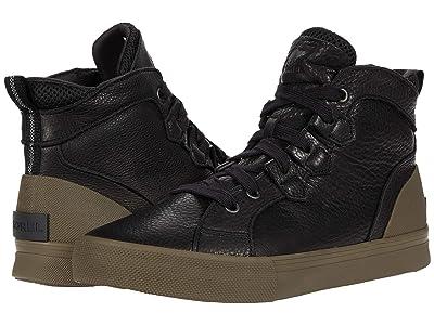 SOREL Cariboutm Sneaker Mid Waterproof (Black) Men