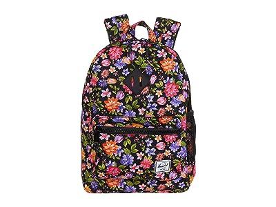 Herschel Supply Co. Kids Heritage Backpack (Big Kids) (Garden Floral) Backpack Bags