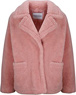 STAND Luxury Fashion Womens 606518800MARINA2190L Pink Coat | Fall Winter 19