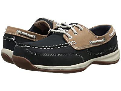 Rockport Works Sailing Club (Navy Blue/Tan) Women