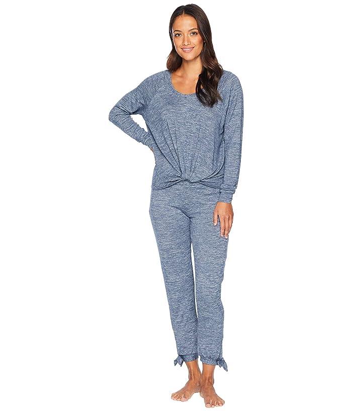 UGG Fallon Knit Sleepwear Set (Navy Heather) Women