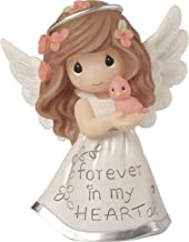 Precious Moments Inspirational Angels Forever in My Heart Resin 183428 Figurine, One Size, Multi