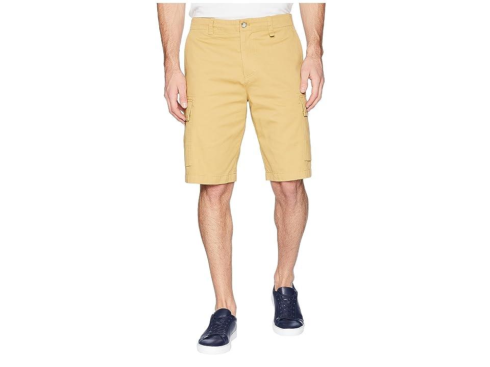 Lacoste Broken Twill Cargo Bermuda Shorts (Antelope) Men