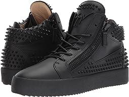 Giuseppe Zanotti - May London Mid Top Birel Sneaker