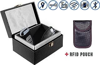 Keyless Cars Security Anti Theft Large Storage Box for Car Key Fob Phones Card Nefeeko Car Key Signal Blocker Box,Faraday Box,Call /& RFID Signal Blocking Case Car Key Safe Box