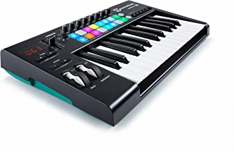 Novation Launchkey 25 USB Keyboard Controller for Ableton Live, 25-Note MK2 Version