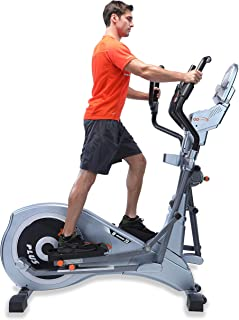 """GOELLIPTICAL T-700PX Manual VS"""" 19""""-23"""" Programmable Elliptical Exercise Cross Trainer Machine for Cardio Fitness Strength Conditioning Workout at Home or Gym"""