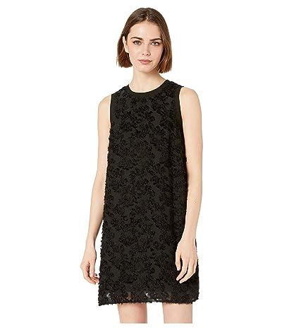 kensie Daisy Burnout Dress KS3K8348 (Black) Women