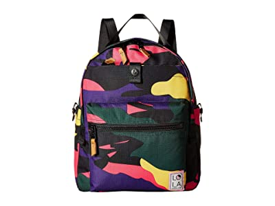 LOLA Escapist Large Backpack (Pink Camo) Backpack Bags