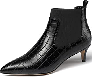 EDEFS Scarpe da donna,Stivali Classici Donna 65mm,Stivali Chelsea Donna