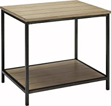 Crosley Furniture Brooke End Table - Washed Oak