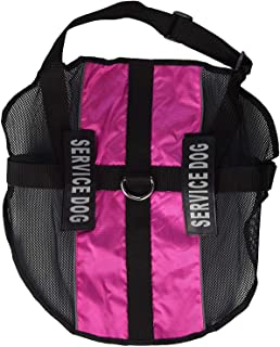 "Dogline N0253-7-0210 Service Dog Vest Harness, X-Large/30"" x 38"", Pink"