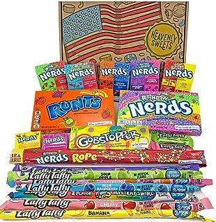 Cesta Americana caramelos Wonka   Golosinas y barra de