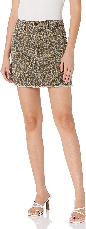 Mud Pie Spasm price Women's Stevie Leopard Max 77% OFF Skirt