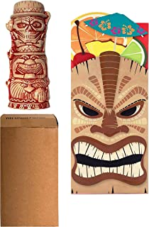 Haunted Mansion Hitchhiking Ghosts Tiki Mug with Red Accents - 2nd Edition (2017) from Trader Sam's Grog Grotto Disney World Florida with Themed Gift Bag