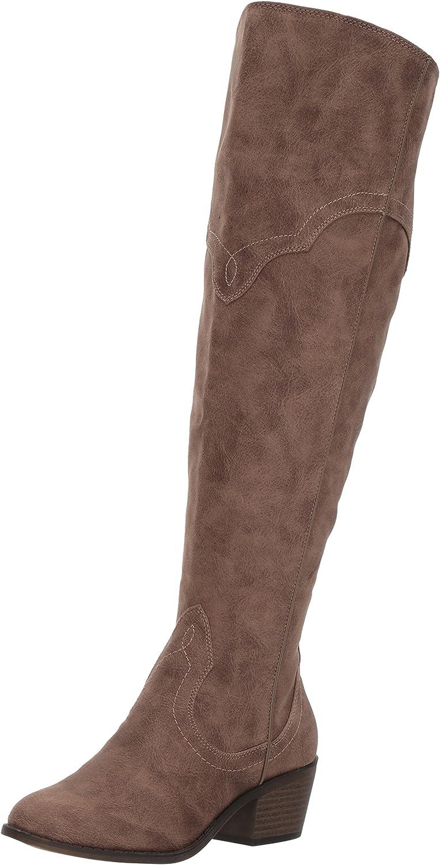 Fergalicious Womens Bata Wide Calf Western Boot