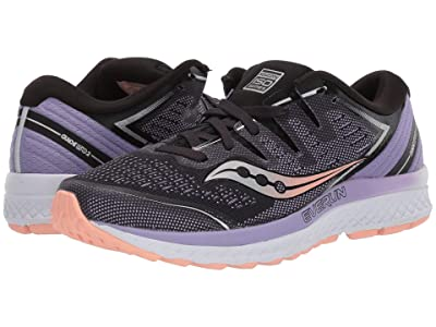 Saucony Guide ISO 2 (Black/Purple) Women